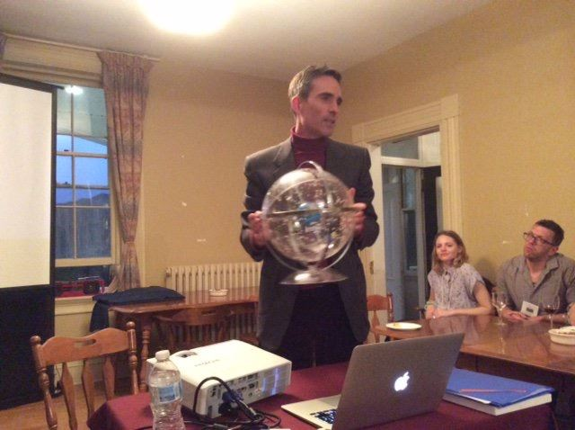Dr. Samuel Gessner Presents using a celestial globe